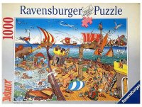 Asterix Puzzle - Seeschlacht - 1000 Teile